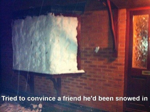 house snow friend window - 6996807424