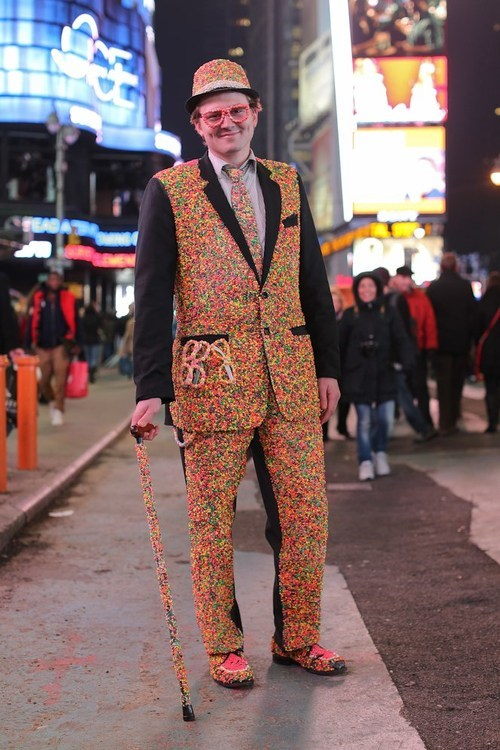 candy suit,cane,candy man