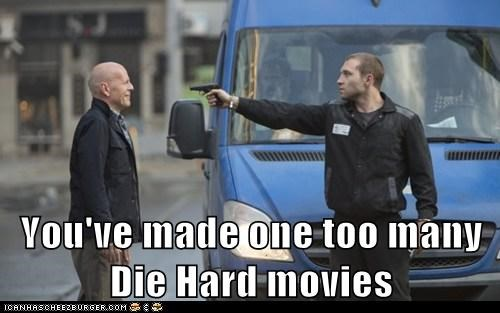 too many,John McClane,guns,bruce willis,die hard