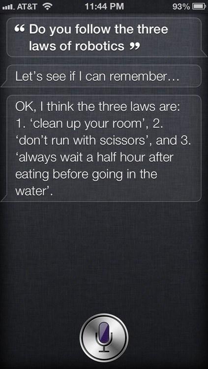 laws of robotics siri isaac asimov - 6997017088