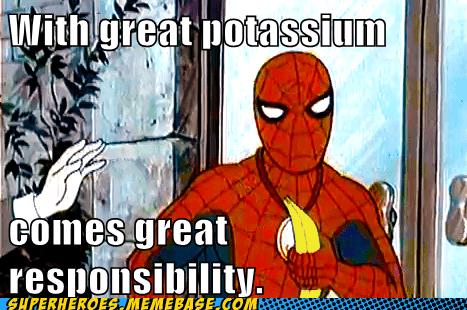 potassium Spider-Man banana - 6997226240