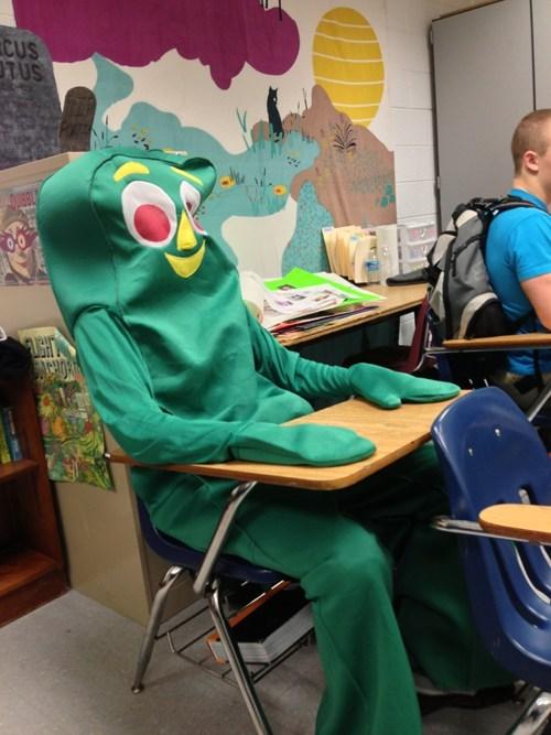 school,gumby