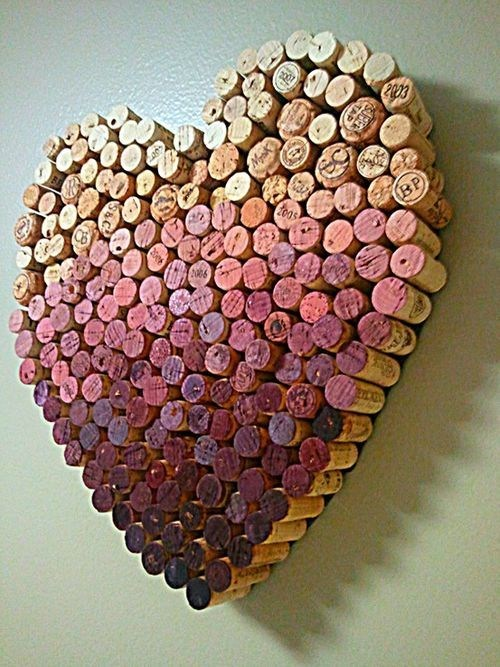 heart wine corks masterpiece - 6997343744