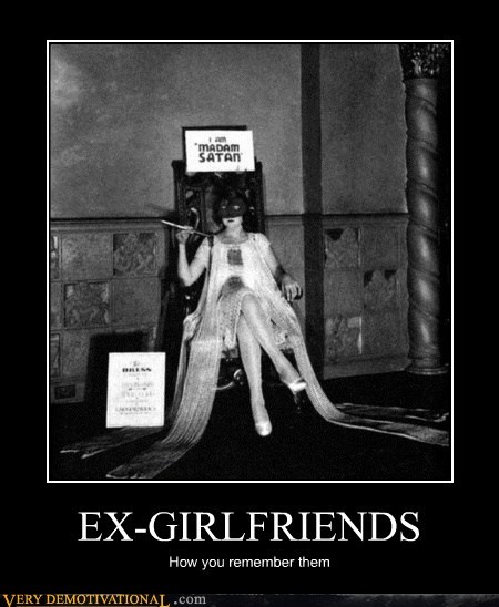 ex girlfriends,satan,evil