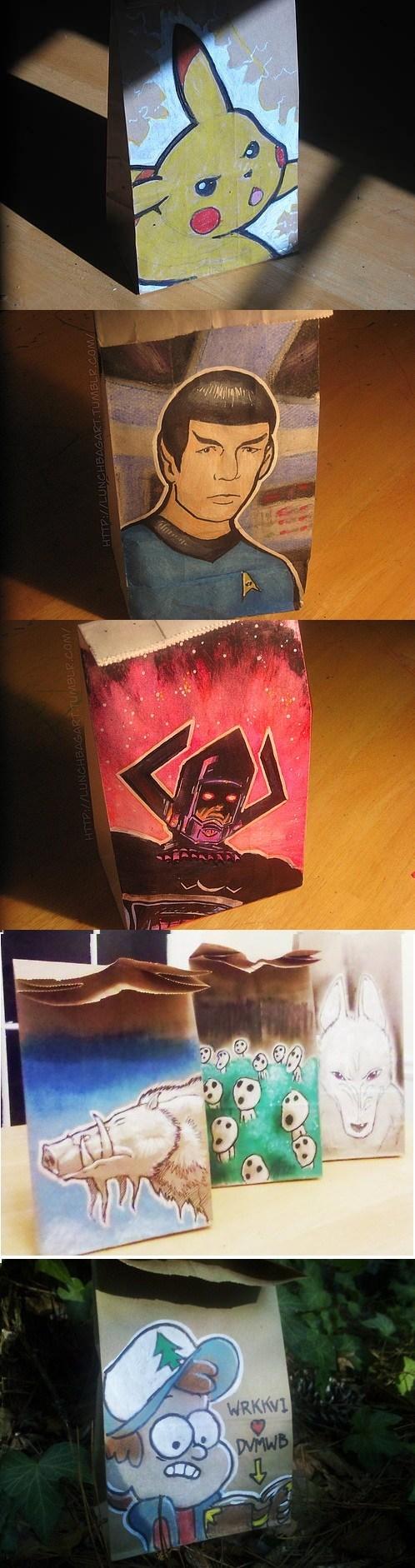 Pokémon art Fan Art gravity falls studio ghibli superheroes Star Trek - 6997584896