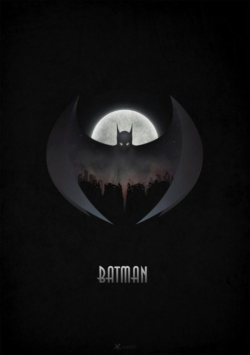 art poster gotham batman - 6997631232