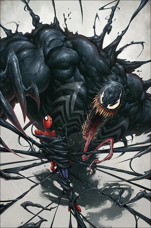 art awesome Venom Spider-Man - 6997705216