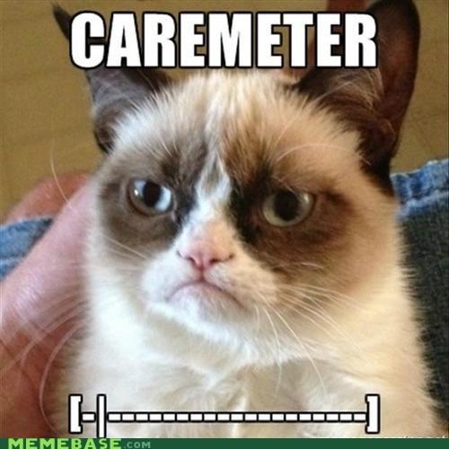 tardar sauce look at all the cares i give Grumpy Cat cares - 6997759232