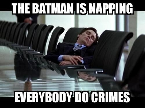 dark knight lazy napping batman - 6997817856