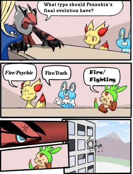 evolution chespin Memes firefighting types - 6997938944