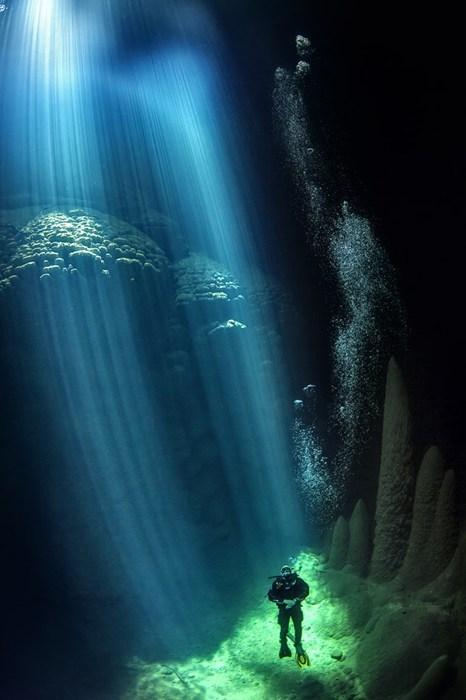 diving,underwater,scuba,cave