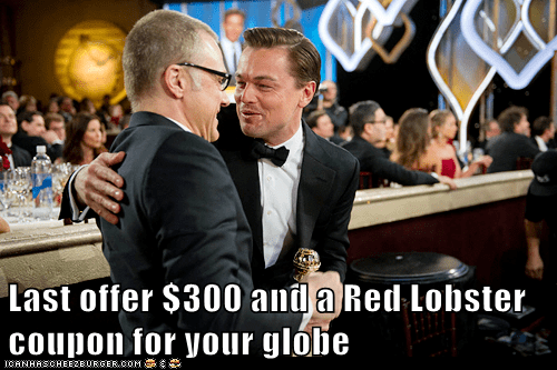 Sad golden globes leonardo dicaprio desperate red lobster - 6998072064