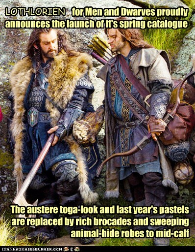 tunics aidan turner kili richard armitage dwarves The Hobbit clothes thorin oakenshield