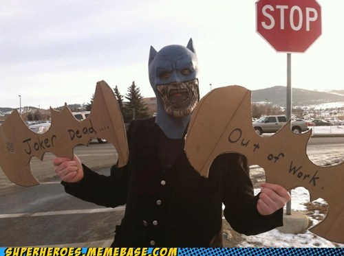homeless,zombie,costume,batman