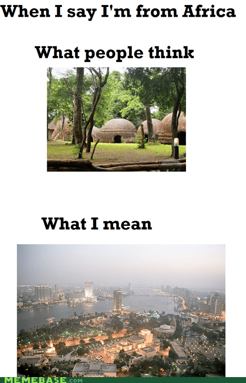 africa cities assumptions
