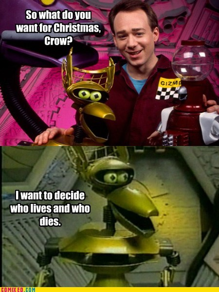 choice,mystery science theater 3000,crow