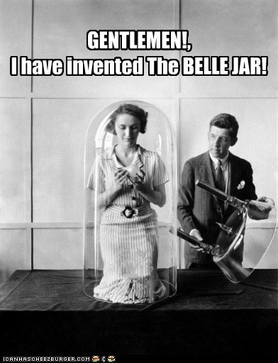 woman belle jar bell jar - 6999003648