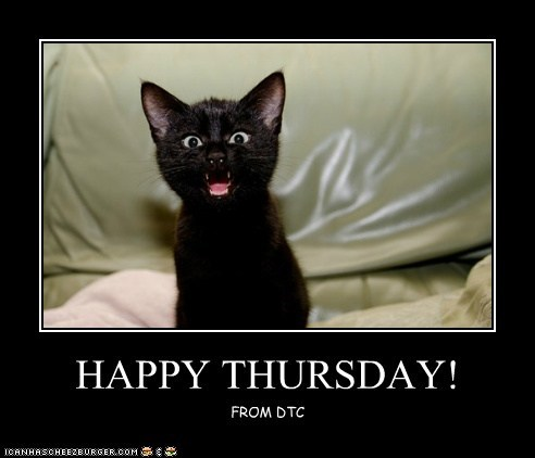 Happy Thursday Cheezburger Funny Memes Funny Pictures