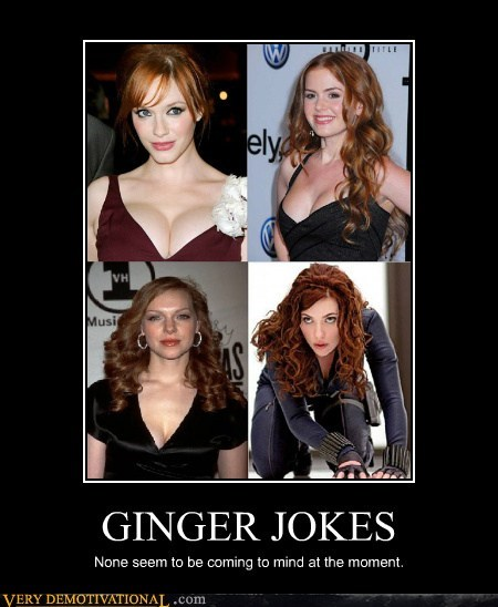 ginger Sexy Ladies jokes cute