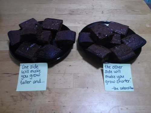 alice in wonderland drugs marijuana Special Brownies - 6999622144