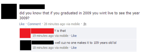 3009 graduation math fail 2009 logic math failbook g rated