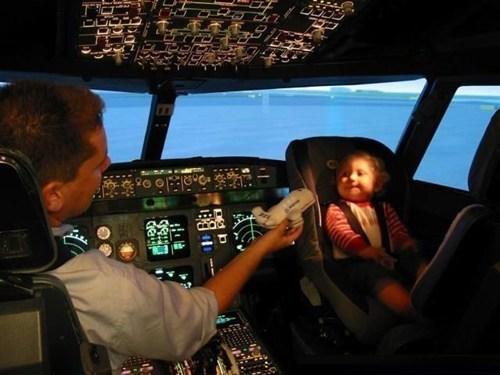 baby seat pilots airplane - 6999804672