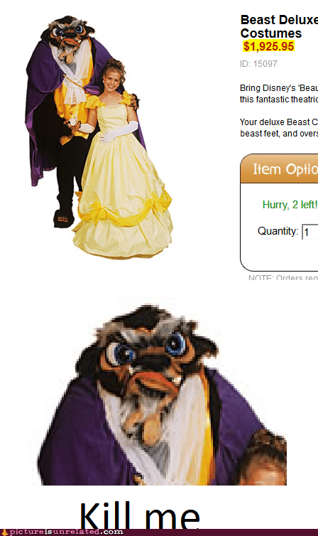 costume Beauty and the Beast kill me now wtf?! wtf?! - 6999847936
