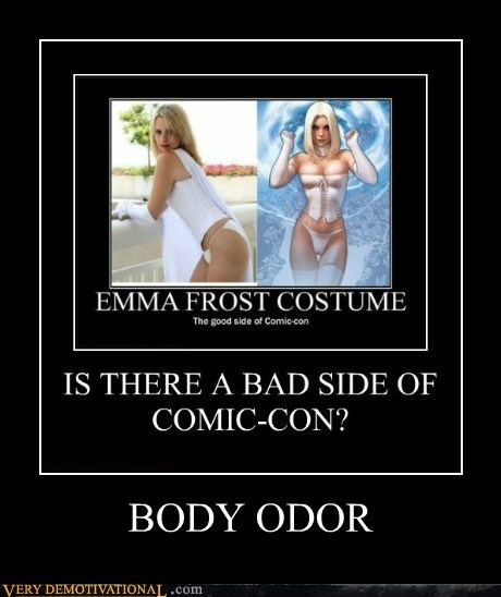 body oder,nerds,comic con,emma frost