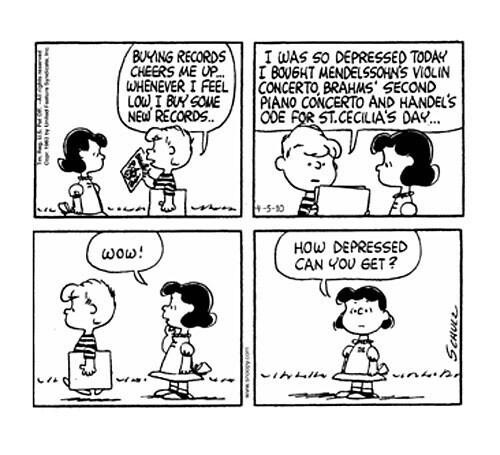 peanuts mendelssohn comics charlie brown brahms handel - 7000096512