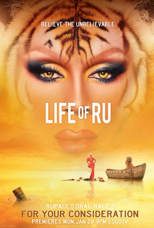 life of pi ru paul Movie reality tv ru pauls drag race - 7000097024