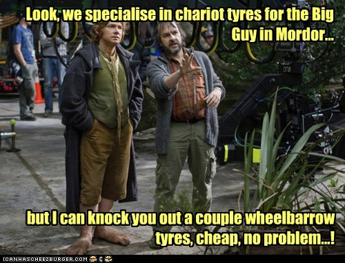 peter jackson,Martin Freeman,wheels,Bilbo Baggins,The Hobbit,salesmen