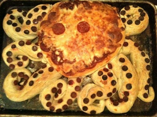 pizza,awesome,octopus