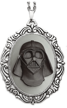 cameo necklace star wars pendant Jewelry darth vader - 7000477440