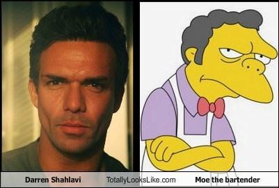Darren Shahlavi Totally Looks Like Moe the bartender