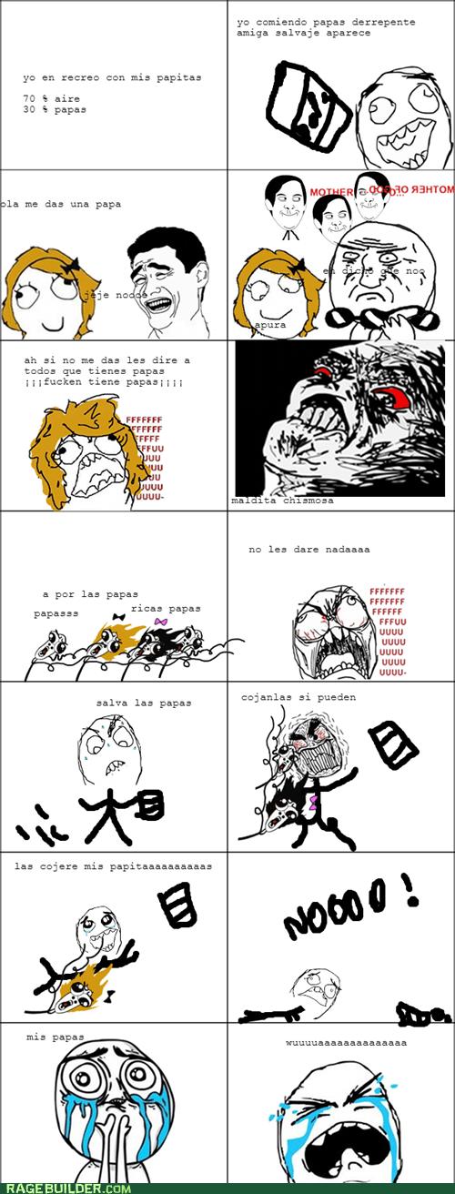 dilema de papas