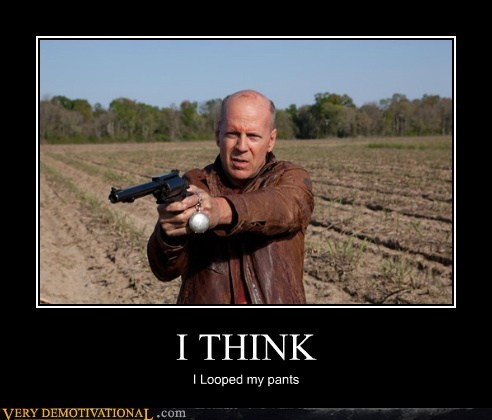 scary bruce willis Movie looper