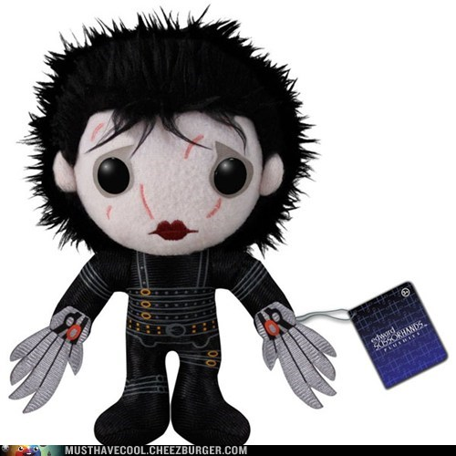 Plush dolls Edward Scissorhands - 7000902912