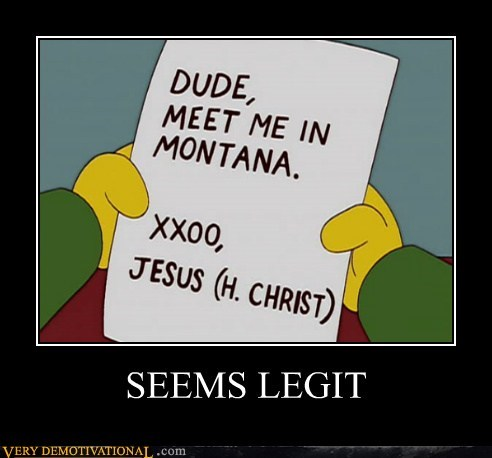 jesus,Montana,simpsons