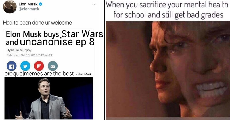 star wars memes star wars prequel A New Hope luke skywalker return of the jedi The Empire Strikes Back anakin skywalker darth vader yoda kylo ren obi wan the last jedi - 7001093