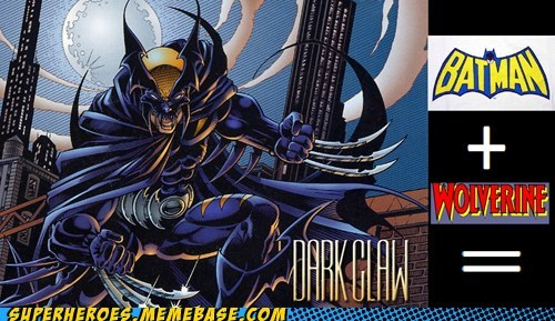 batman wolverine darkclaw - 7001816320