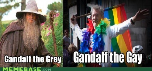 Gandalf has many forms
