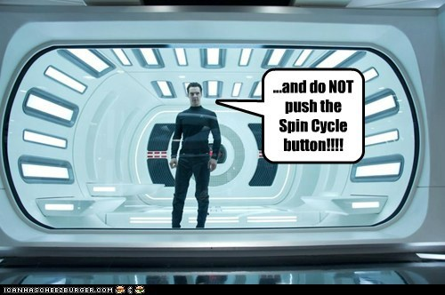 benedict cumberbatch,Star Trek,spin cycle,star trek into darkness