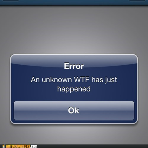 error wtf Unknown iphone g rated AutocoWrecks - 7003397632