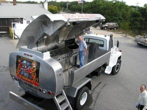 awesome oil grill truck - 7003483904