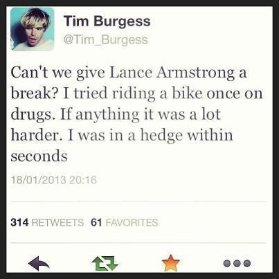 biking drugs Lance Armstrong hedge after 12 g rated