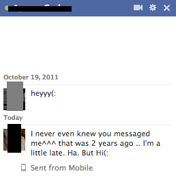 facebook chat ignore blocked chat
