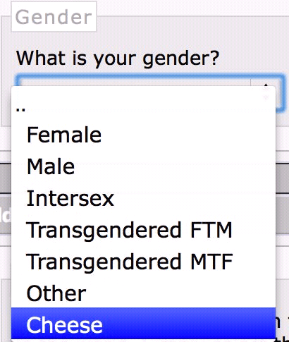 gender,cheese,survey
