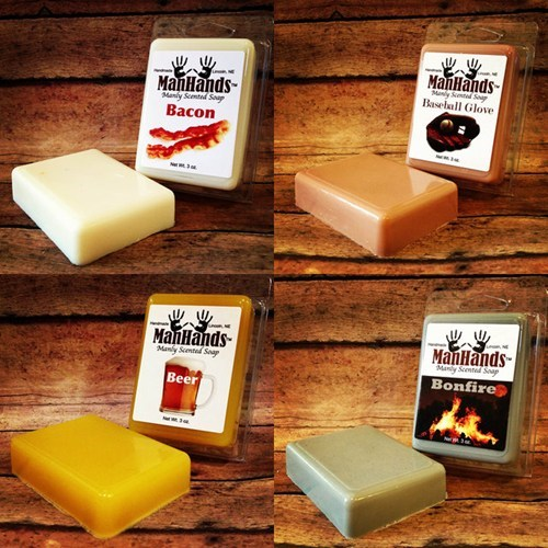beer soap manly bacon - 7004106496