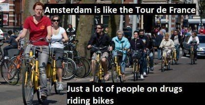 Amsterdam drugs Lance Armstrong tour de france doping after 12