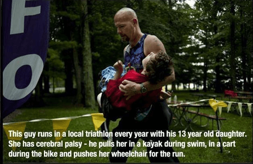 random act of kindness parenting dad BAMF g rated win - 7004452352